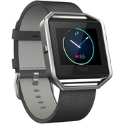 Leather Band + Frame for Fitbit Blaze