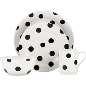 Kate Spade by Lenox Deco Dot 12 Pc. Dinnerware Set
