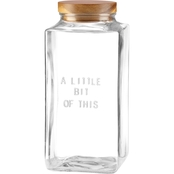Kate Spade by Lenox Little Bit of This Canister