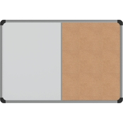 Universal Combination Cork and Dry Erase Bulletin Board