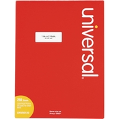Universal Permanent 1 x 2 5/8 In. Label 7500 Pk.