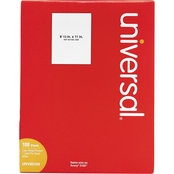 Universal Permanent 8 1/2 x 11 In. Label 100 Pk.