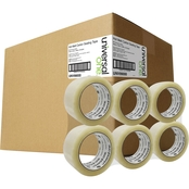 Universal One Heavy-Duty Box Sealing Tape, 48mm x 50m, 3 In. Core, Clear, 36 Pk.