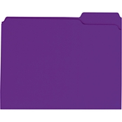 Universal One Reinforced Top Tab File Folders, 100 Pk.