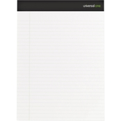 Universal One Sugarcane Based Legal 11-3/4 x 8-1/2 in. White Writing Pad 2 Pk.