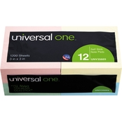 Universal One Standard 3 x 3 in. Self-Stick Notes 12 Pk.
