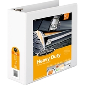 Wilson Jones Heavy Duty D Ring View Binder, 4 inch Capacity