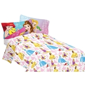 Disney Bedazzling Princess Sheet Set
