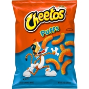 Cheetos Jumbo Puffs Cheese Flavored Snacks 8 oz.
