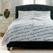 Signature Design by Ashley Amantipoint 3 pc. Duvet Cover Set