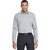 Van Heusen No Iron Traveler Blues Dress Shirt