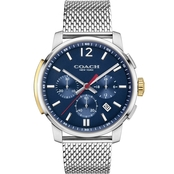 COACH Men's Stainless Steel Bleecker Chrono Watch 14602022