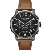 COACH Men's Stainless Steel Bleecker Chrono Watch 14602017