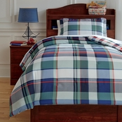 Signature Design by Ashley Mannan Twin Comforter Set, Plaid Youth