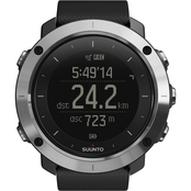 Suunto Traverse GPS Outdoor Watch, Black