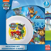 Zak Designs Boys PAW Patrol 3 Pc.  Window Box Set (Plate, Bowl and Tumbler)