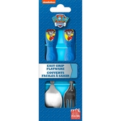 Zak Designs Boys PAW Patrol EasyGrip Flatware Set