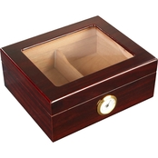 Meier and Dutch Whitetail Glasstop Humidor