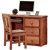Chelsea Home Computer Desk with 3 Drawers