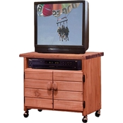 Chelsea Home TV Cart with 2 Doors