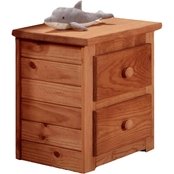 Chelsea Home 2 Drawer Nightstand