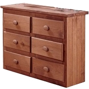 Chelsea Home Mini 6 Drawer Dresser