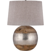 Dimond Lighting German Silver Table Lamp