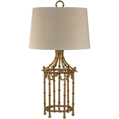 Dimond Lighting Bamboo Birdcage Table Lamp