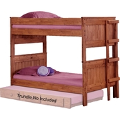 Chelsea Home Furniture Twin Over Twin Stackable Bunk Bed