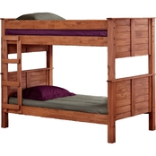 Chelsea Home Furniture Twin Over Twin Post Bunk Bed