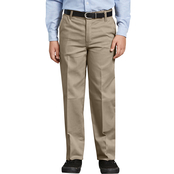 Dickies Boys Flex Classic Fit Straight Leg Ultimate Khaki Pants