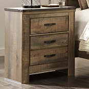 Ashley Trinell 2 Drawer Nightstand