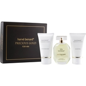 Harve Benard Precious Gold for Him 3 Pc. Gift Set