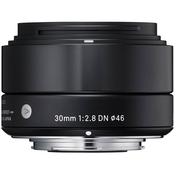 Sigma 30mm F2.8 DN  A for Sony E-Mount, Black Finish