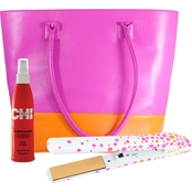 CHI Pink Papaya Flat Iron Kit