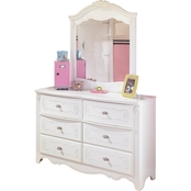 Ashley Exquisite Dresser and Mirror
