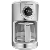KitchenAid KCM1202OB 12-Cup Glass Carafe Coffee Maker