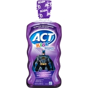 (D) ACT Kids Anti Cavity Rinse 16.9 oz.