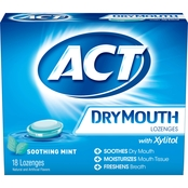 ACT Dry Mouth Lozenges 18 Pk.