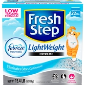 Clorox Fresh Step Lightweight Extreme Febreze Scented Cat Litter 15.4 lb.
