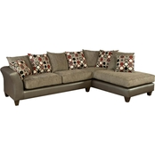 Chelsea Home Theta 2 pc. Sectional
