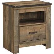 Ashley Trinell 1 Drawer Nightstand
