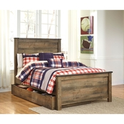 Ashley Trinell Full Trundle Bed