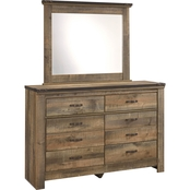 Ashley Trinell Youth Dresser and Mirror Set