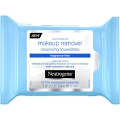 Neutrogena Cleansing Makeup Remover Cleansing Towelettes, Fragrance Free, 25 pk.
