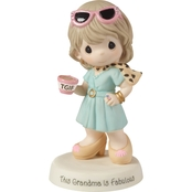 Precious Moments TGIF - This Grandma Is Fabulous Figurine