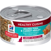 Science Diet Adult Healthy Cuisine Tuna and Carrot Medley Canned Cat Food, 2.8 oz.