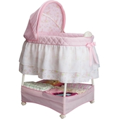 Delta Children Disney Princess Gliding Bassinet