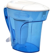 ZeroWater 12 Cup Ready Pour Pitcher with TDS Meter (Total Dissolved Solids)