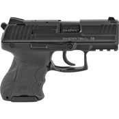 HK P30SK 9MM 3.27 in. Barrel 10 Rds 2-Mags Pistol Black with Decocker